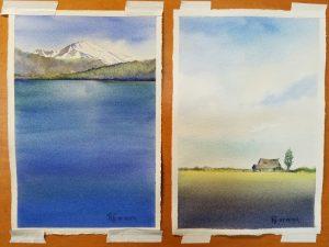 """Watercolor - 7"""" x 10.5"""""""