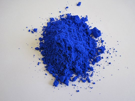 New blue pigment