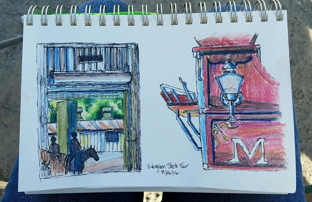 Sketches from the fair