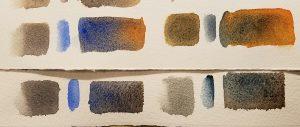 Fall scene color studies