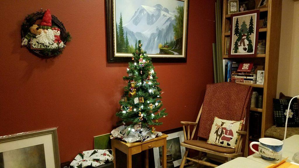 Christmas studio