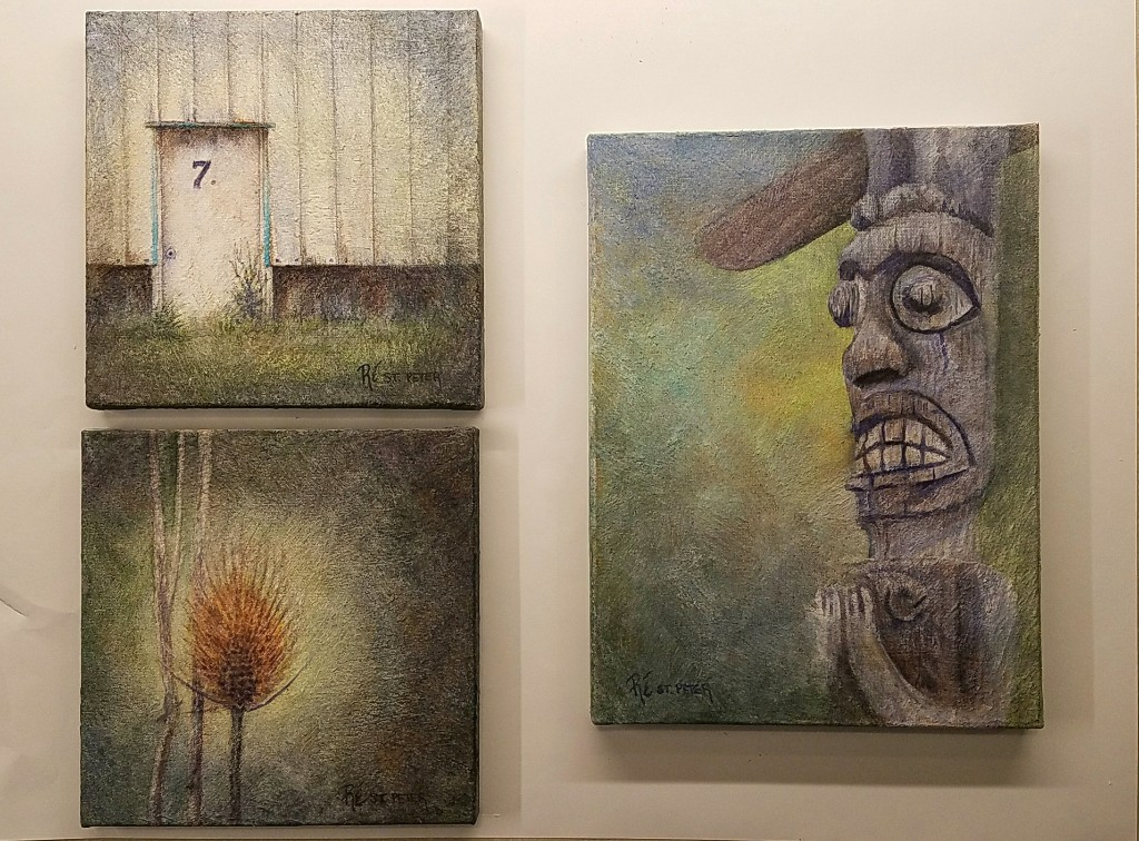 3 paintings in a day