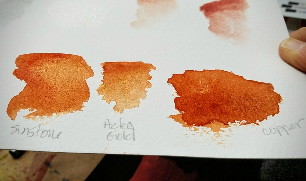 Discovering luminescent watercolors
